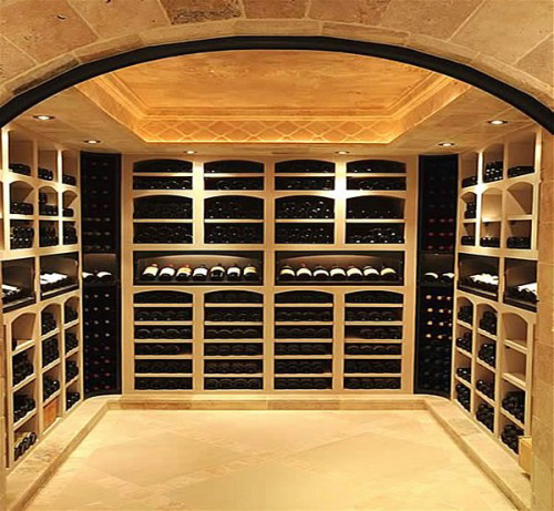 Keystone cabinetry inc providing interior design and for Garage wine cellar